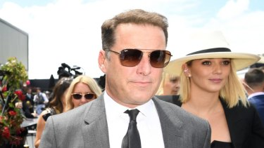 Karl Stefanovic and wife Jasmine Yarbrough.