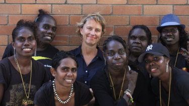 The all-female rock band from Arnhem Land, Ripple Effect, performed in five languages.