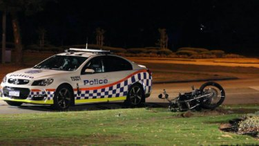 Motorbike rider dies after police pursuit south of Perth