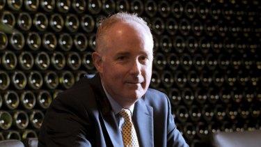 Treasury Wine Estates boss Mike Clarke.