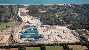 Water Corporation's Southern Seawater Desalination Plant in Binningup.