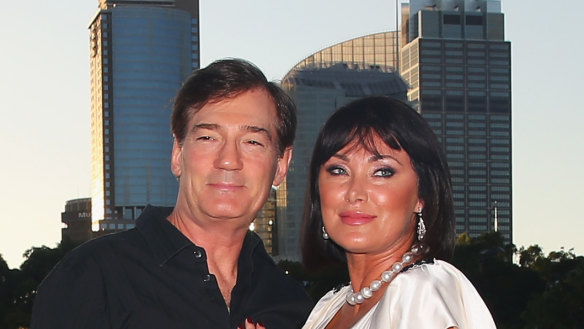 David and Lisa attend The Real Housewives of Sydney Launch in February 2017