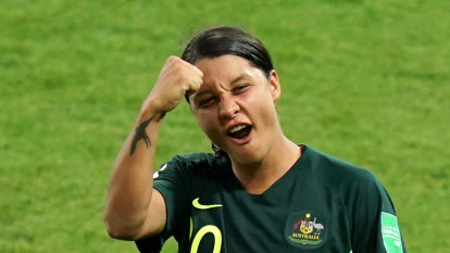 Samantha Kerr brings a new meaning to the name and the game