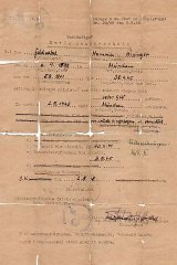 SS ReichsführerHeinrich Himmler's false identity document.