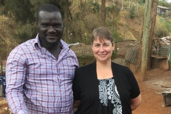 The government has granted David Ambuso, from Kenya, a visa to marry his fiance Lee Clayton but has rejected five applications since April to travel to Australia.