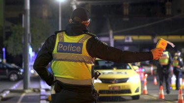 A review found young recruits to the force were inducted into the fake testing scam early in their careers. The target for breath tests has now been reduced.