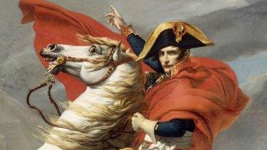 French Emperor Napoleon Bonaparte.