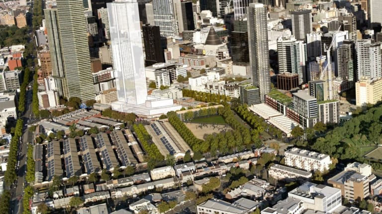 The shed redevelopment is part of a plan to replace the market's above-ground parking with a new park.