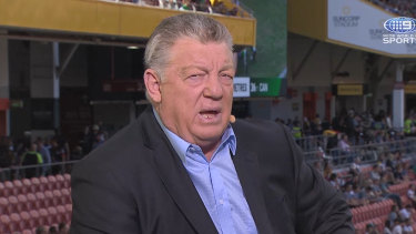Phil Gould is being courted by Peter V'landys to take a paid job at the NRL.