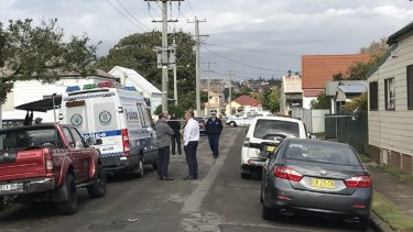 Emergency services were called to a home in Newcastle shortly after 7am on Tuesday.