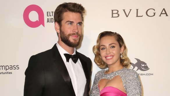 Liam Hemsworth and Miley Cyrus reveal fire-ravaged California home