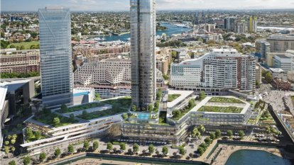 High-rise tower to transform 'outdated' Harbourside Shopping Centre