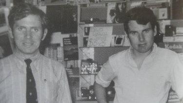 Michael Kirbyand his partner Johan vanVloten in 1969, the year they met.