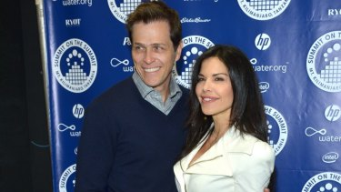 Lauren Sanchez with ex-husband Patrick Whitesell.
