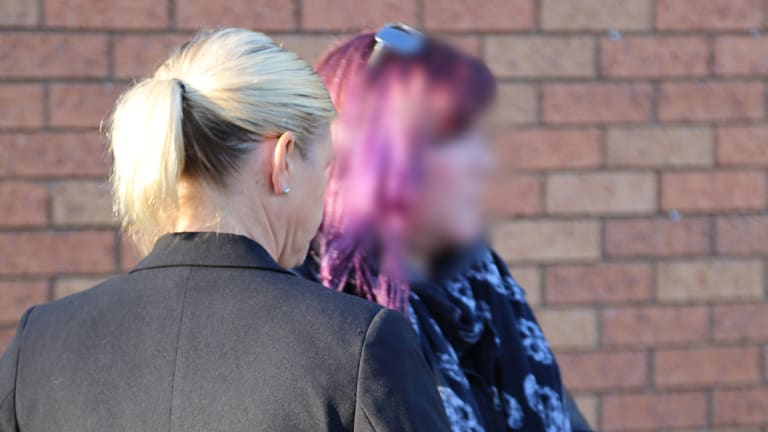 Amanda Zukowski is arrested by NSW Police.