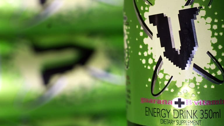 The maker of V Energy drinks has been unable to trademark its signature green.