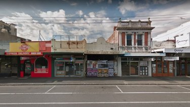 Barkly Street, Footscray, where one family wants to build their mega home.