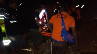 Rescue efforts are still underway to reach trapped miners in Bakan village, Lolayan.