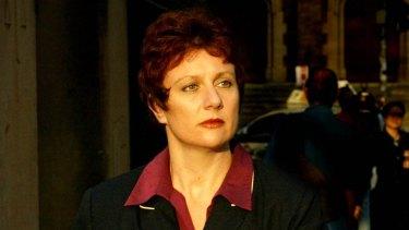 Kathleen Folbigg leaves the Supreme Court in Darlinghurst in 2003.