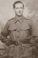 Ernest William Weeks, who went missing 11 days after arriving back in the country from WWI.
