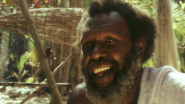 Eddie Koiki Mabo in Trevor Graham's award-winning film <i>Mabo: Life of an Island Man</i>.