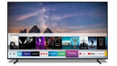 Samsung 2019 and 2018 TVs will get an exclusive iTunes app, which lets you access your existing library or rent and buy shows and movies from Apple.