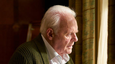 Anthony Hopkins plays a man struggling with dementia in The Father.