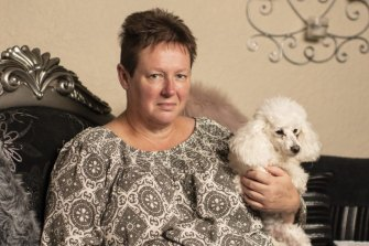 Shuttle driver Julie Lamrock is still suffering from chronic fatigue and nerve damage, and fears it is permanent.