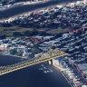 Key planners back study of green bridge between Teneriffe and Bulimba