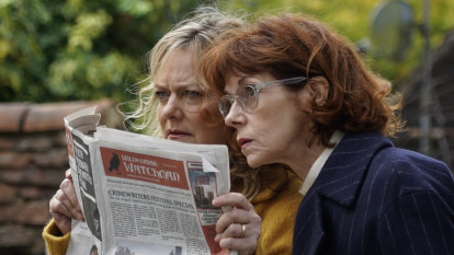 Cheery British murder-mystery goes perfectly with a cup of tea