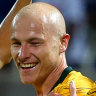 Mooy sends message to club boss in man-of-the-match turn for Socceroos