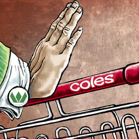 What happens at Coles when the fun and games end?