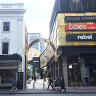 Future murky for Raine Square as Bankwest mulls exit