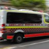 Woman arrested after allegedly stabbing a man in the back at Sydney hospital