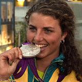 Slalom canoeist Jessica Fox won silver as a teenager at the London Olympics.