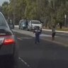 Footage emerges of kids playing in traffic after escaping childcare