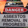 Asbestos waste levy to be eased to discourage illegal dumping