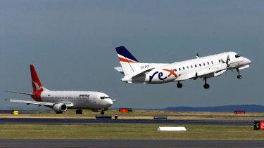 Rex will start Sydney-Melbourne services in March.