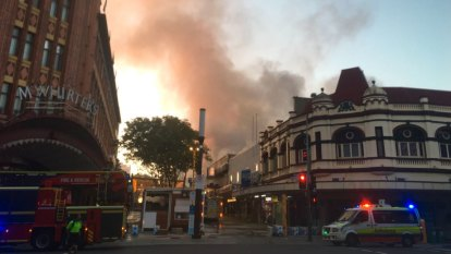 Gas leak 'most likely' behind Fortitude Valley blaze