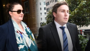 Lauren and Adam Cranston, both charged over an alleged conspiracy to defraud the Australian Tax Office.