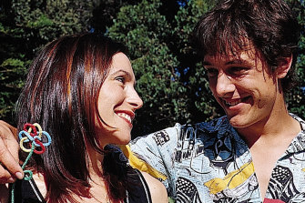 Karvan and Johnson starred in The Secret Life of Us in the early 2000s.