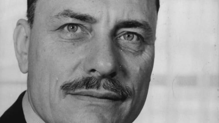 British Conservative MP Enoch Powell in 1962.