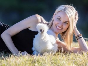 Traci Griffiths with one of her fluffy friends.