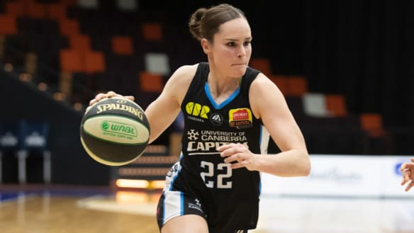 Canberra Capitals headed for horror trip west