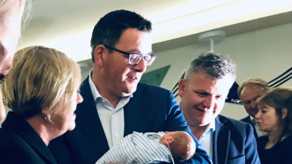 Baxter the future? ALP pledges $100m for Geelong maternity hospital