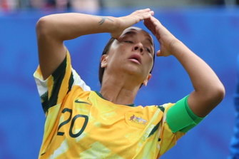 Sam Kerr's Matildas have landed in a tough Olympic group.