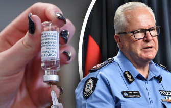 Western Australia is only seeing about 12 AstraZeneca vaccine doses a week, vaccine commander Chris Dawson has revealed.