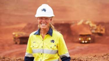Julie Shuttleworth, deputy chief executive officer of Fortescue Metals Group.