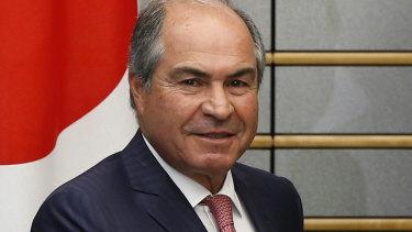 Embattled Jordanian Prime Minister Hani Mulki.