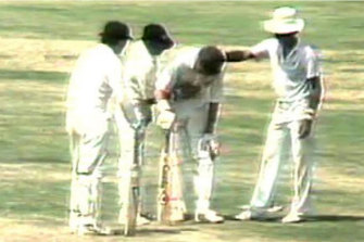 Jones' double century in the sweltering Indian heat has gone down in history as one of the most courageous of all time.
